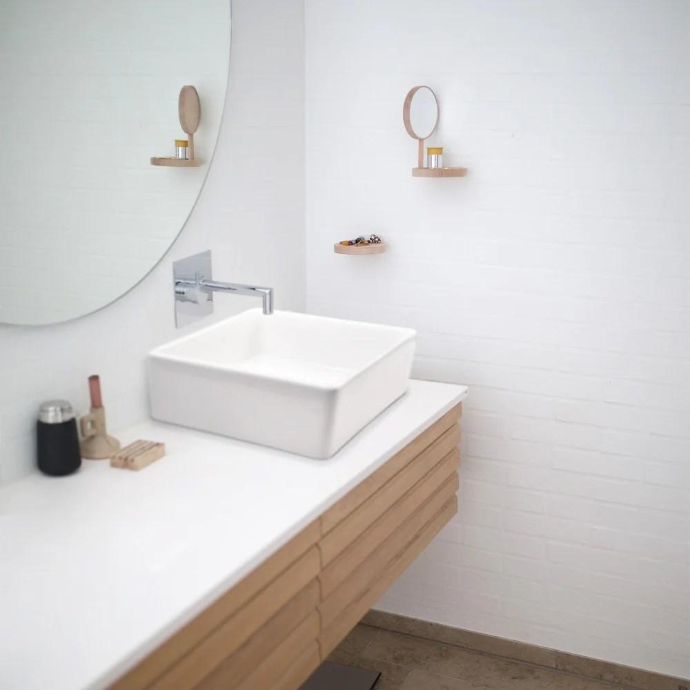 aquaterior square bathroom sink above counter w drain tray 15