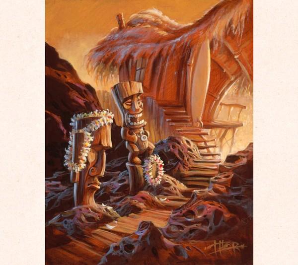 Tiki Talk  Tiki Art  Tom Thordarson  THOR ART