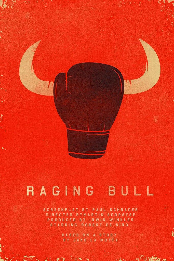 raging bull 1980 movie poster
