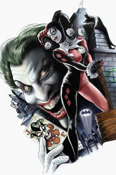 Harley Quinn Joker Batman Comics Poster  My Hot Posters
