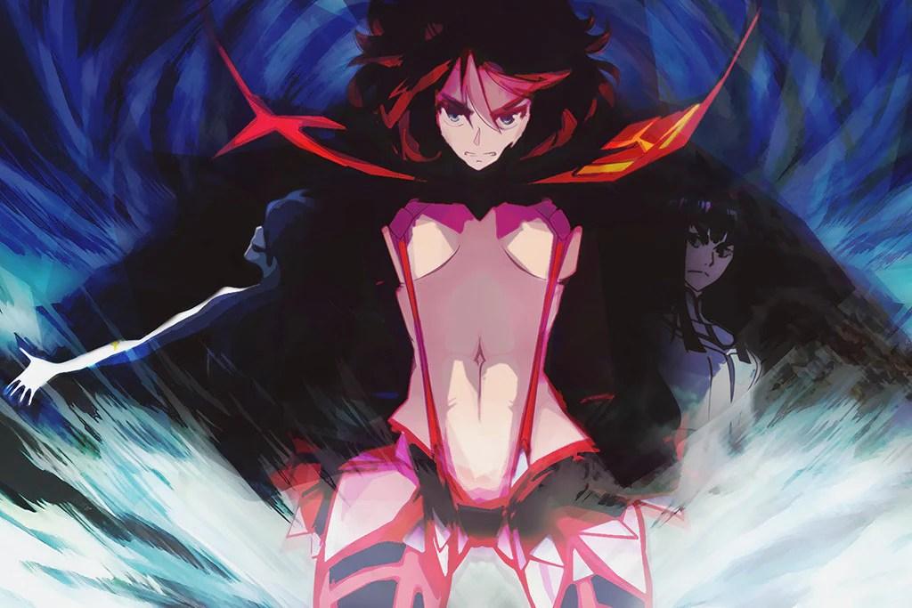 kill la kill hot girl anime poster