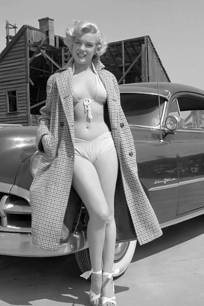 Marilyn Monroe Car Decal Sticker | Etsy