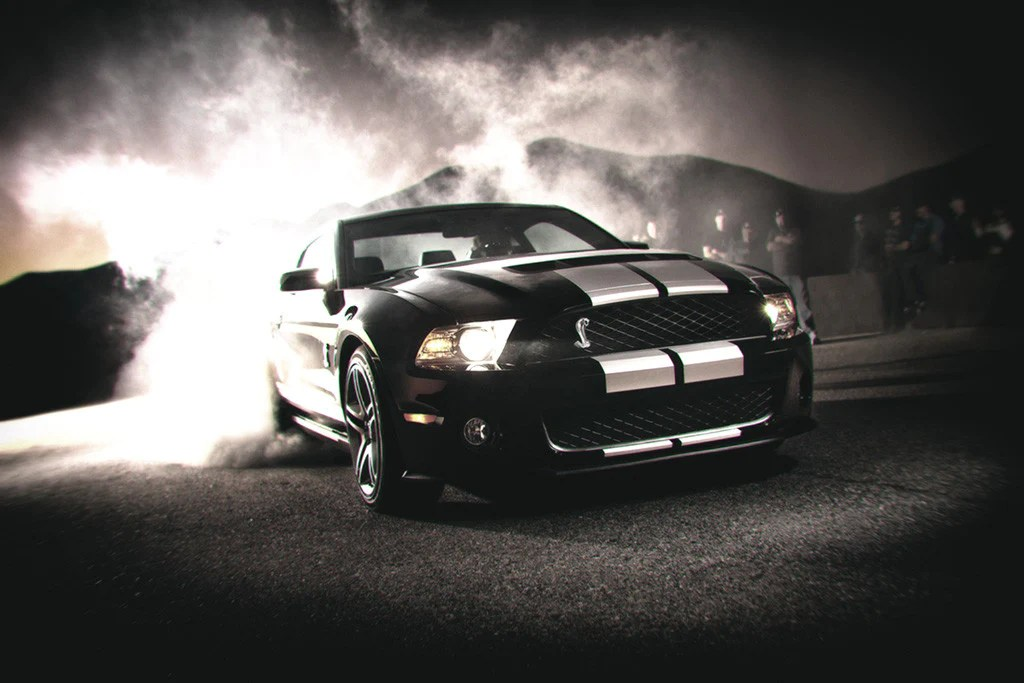 Money And Cars Wallpaper Ford Mustang Shelby Gt500 Drift Car Poster My Hot Posters
