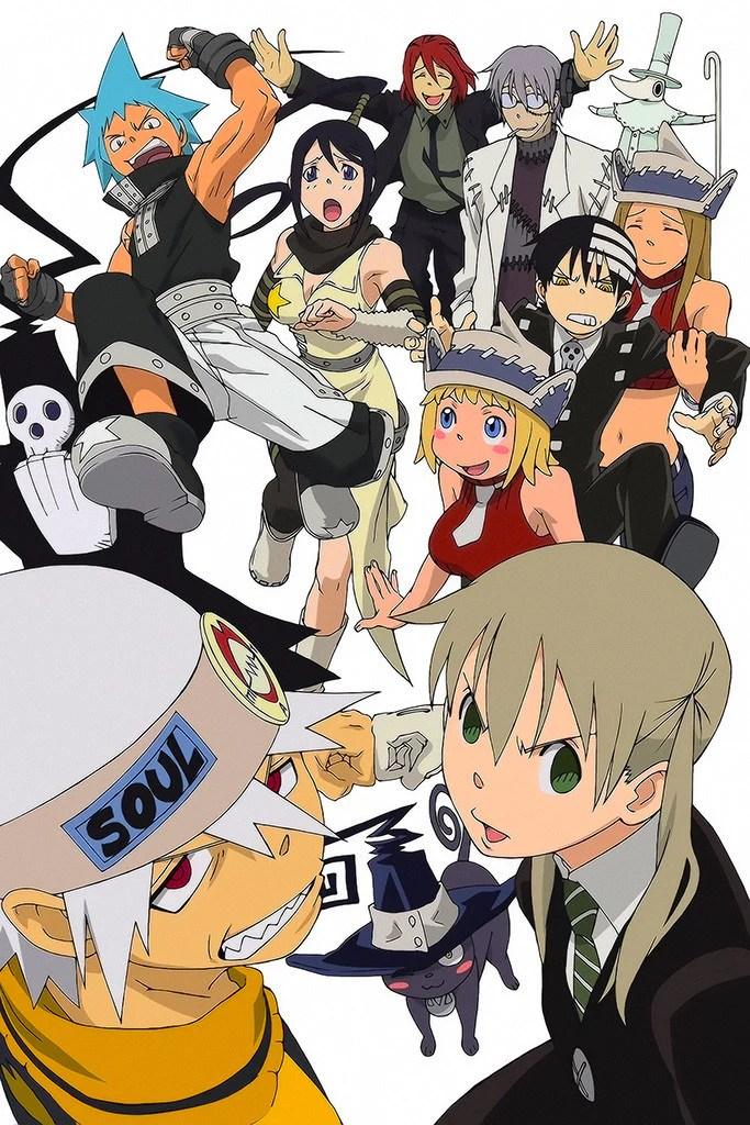 soul eater maka evans anime poster