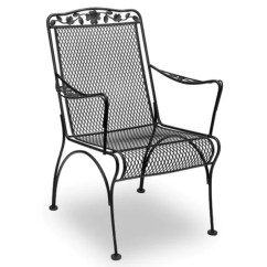 Iron Chair Price Womb Review Dogwood Dining Meadowcraft2016