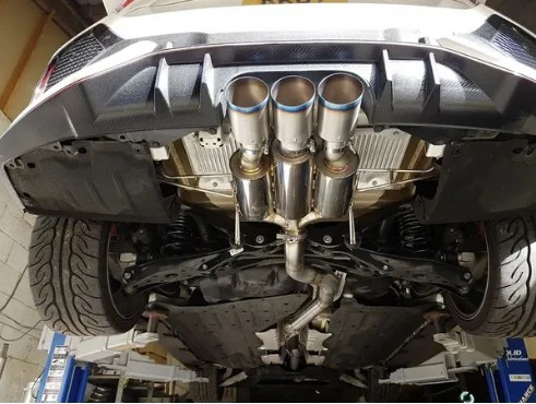 solid fabrications honda civic type r fk8 3 inch exhaust