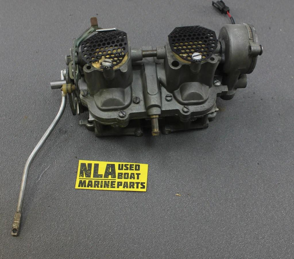 edelbrock quicksilver carburetor diagram h s evinrude johnson outboard 1964 75hp speedifour carb