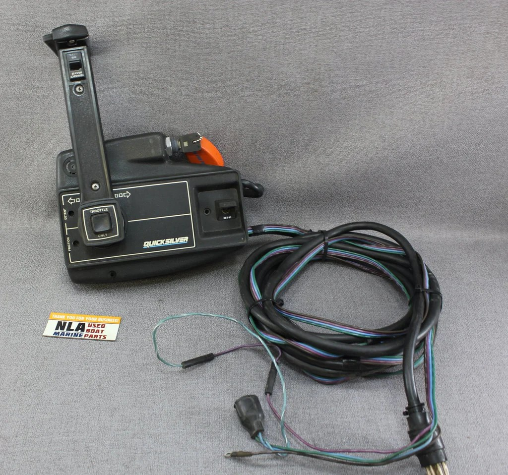 mercury mariner outboard remote control shift box 8 pin power trim [ 1024 x 958 Pixel ]