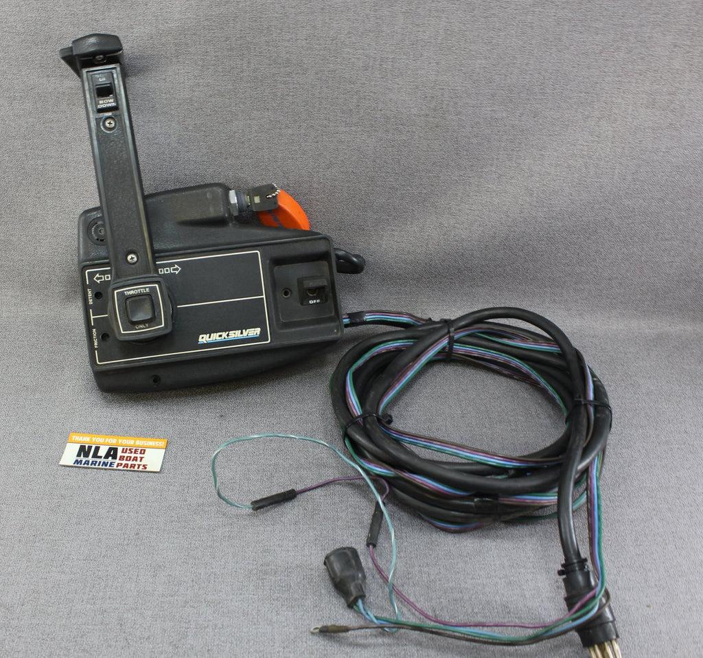 medium resolution of mercury mariner outboard remote control shift box 8 pin power trim