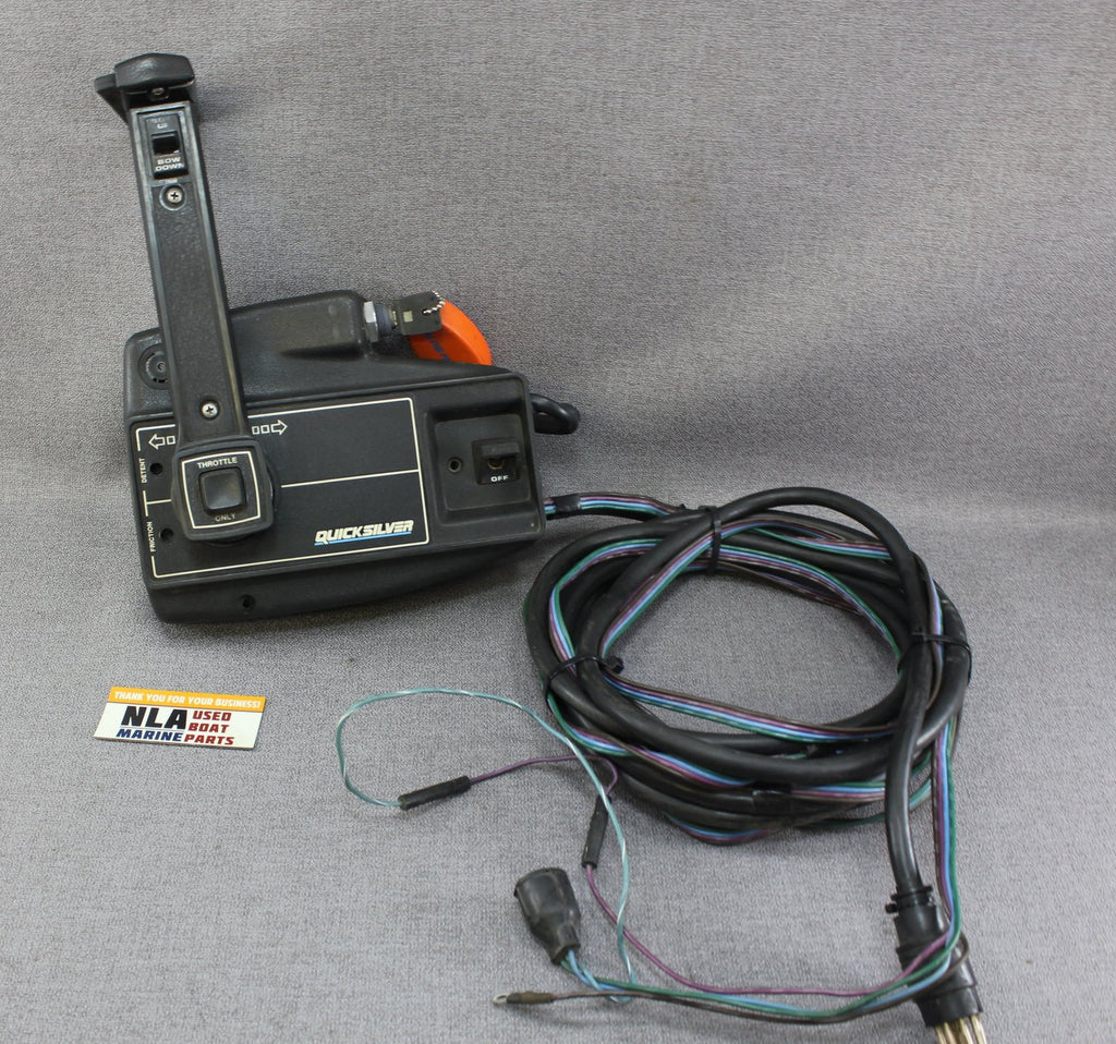 hight resolution of mercury mariner outboard remote control shift box 8 pin power trim