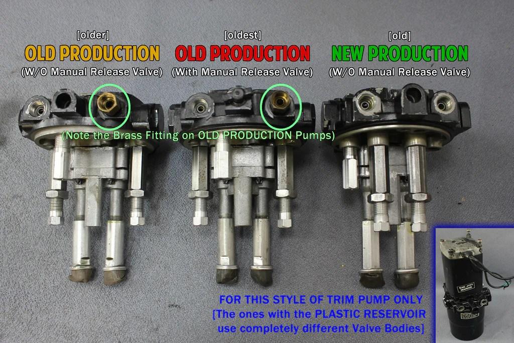 MerCruiser Oildyne (Design 23) Power Trim Pump Motor Metal Reservoir – NLA Marine