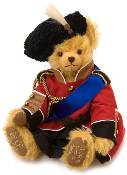Trooping The Colour Teddy Bear By Hermann Spielwaren The