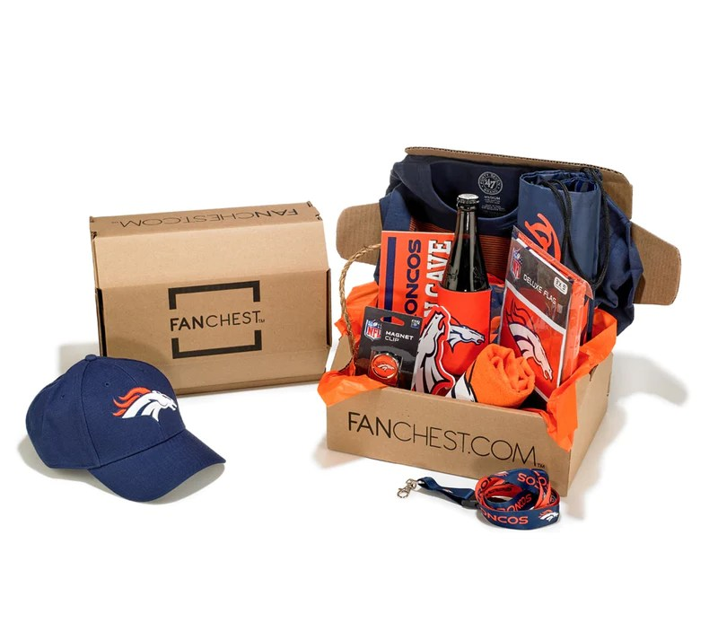 Denver Broncos Gift Box Premium Broncos Gear Fanchest