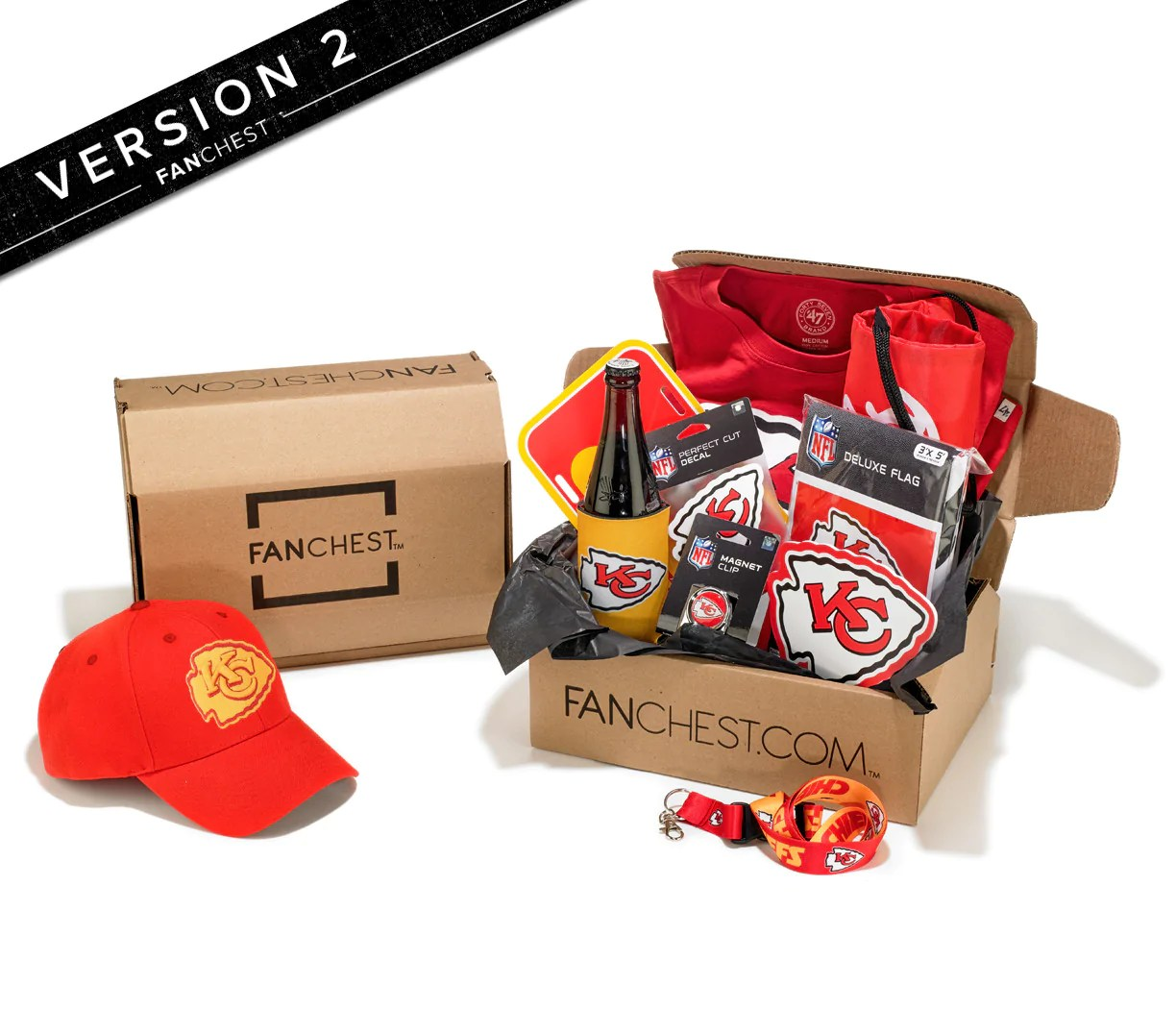 Kansas City Chiefs Gift Box Chiefs Gear Great Gift For