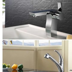 Kraus Kitchen Sinks Pop Up Outlets For Faucet Sale Faucets And Bath