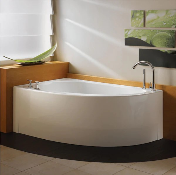 Neptune Bathtub WIND Corner  Canaroma Bath  Tile