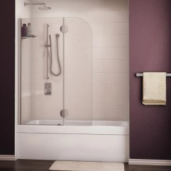 Kitchen Cabinet Doors For Sale Table Centerpiece Fleurco Tub Shield Evolution Monaco Round Top ...