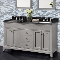 Brushed Nickel Kitchen Hardware Table With Stools Fairmont Bathroom Vanity Smithfield Double Sink Collection ...