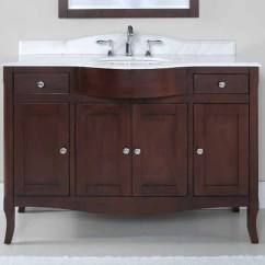 48 Kitchen Sink Base Cabinet Swags And Valances Tidal Bathroom Vanity Bella 48″ – Canaroma Bath & Tile