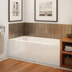 Kitchen Cabinet Outlet Stainless Steel Garbage Can Maax Bathtub Rubix Alcove – Canaroma Bath & Tile