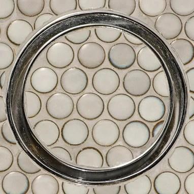 Infinity Drain Round Tile Drain Canaroma Bath Amp Tile