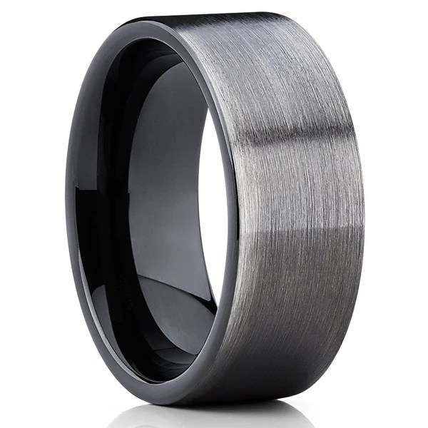 Gunmetal Tungsten Collection Gunmetal Wedding Bands