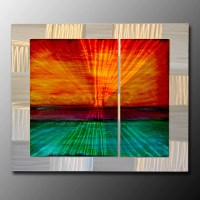 Extra Large Metal Wall Art | Metal Paintings and Wall ...