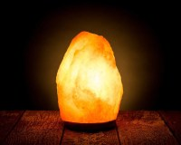 2 Himalayan Rock Salt Lamp Natural Air Purifier Negative ...