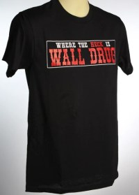 Bumper Sticker T-Shirt - Black  Wall Drug Store