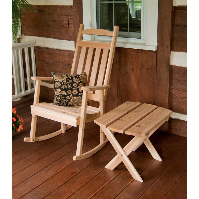 cedar rocking chairs dining vintage classic chair amish made gardenbenches net rocker