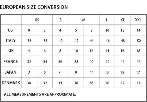 Women   size charts apparel also sizing walk into fashion rh walkintofashion