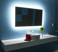 Backlit Mirrors For Bathrooms | Backlit Bathroom Wall Mirrors
