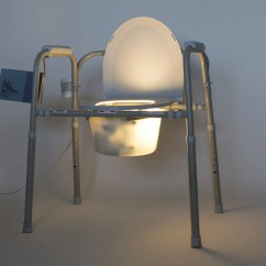 Chair With Light Exercise Ball Office Target Commode Reading And Lamp Al Hamad Design
