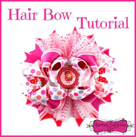 hair bow tutorials