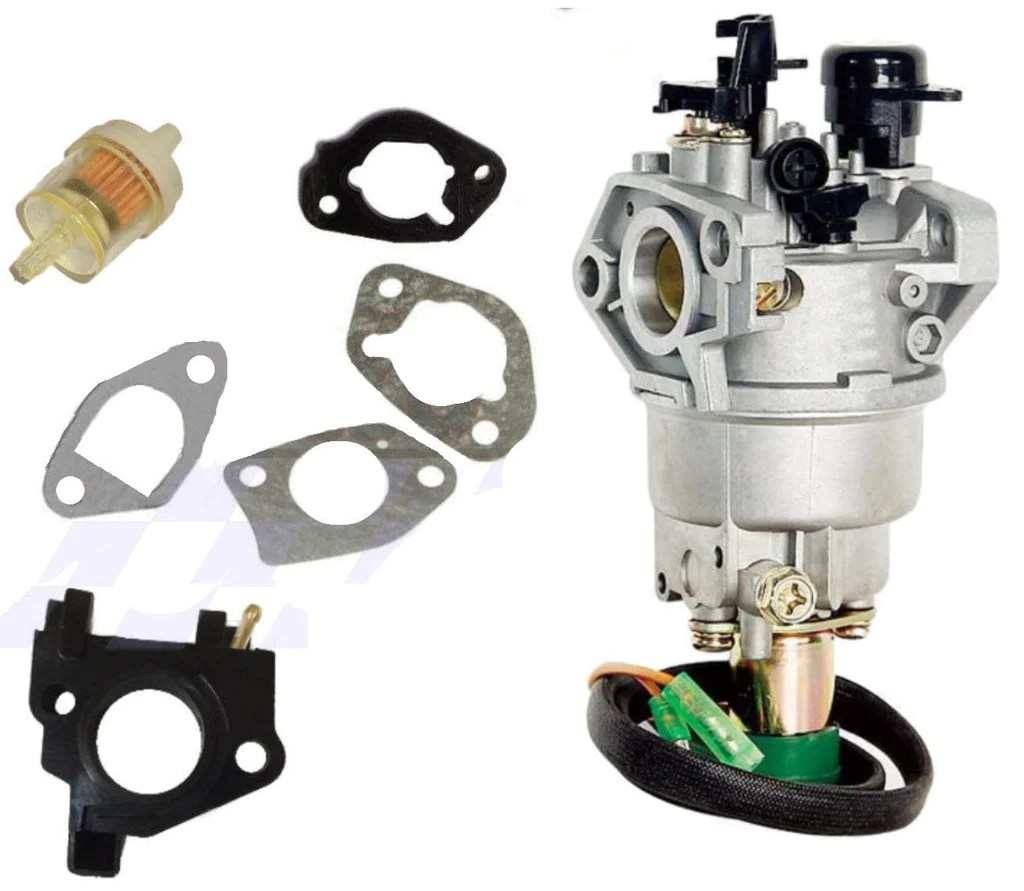 small resolution of carburetor w solenoid fits honda gx390 gx340 13hp chinese 188f generator engine