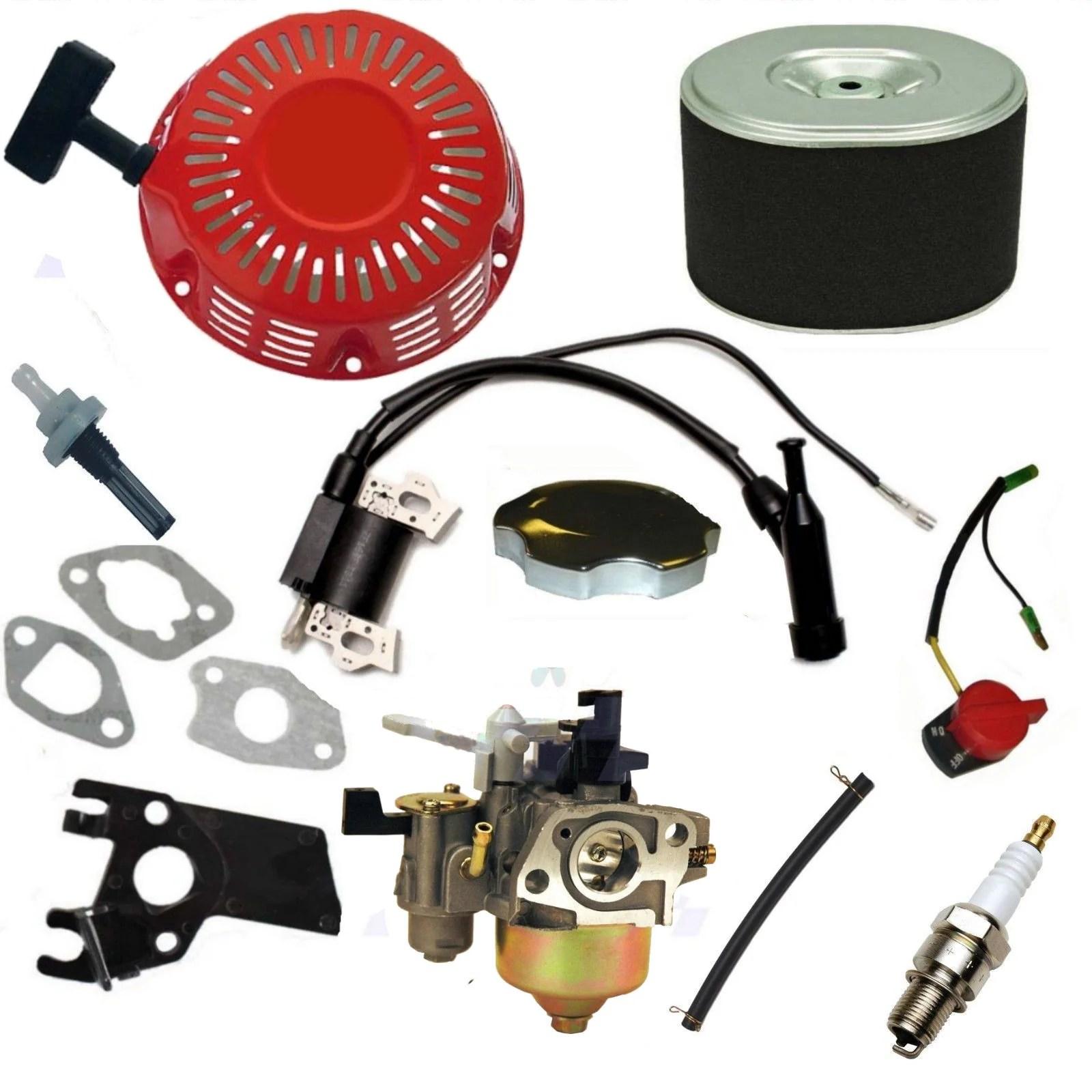 medium resolution of new honda gx390 recoil carburetor ignition coil spark plug air honda gx390 solenoid honda gx390 wiring plug