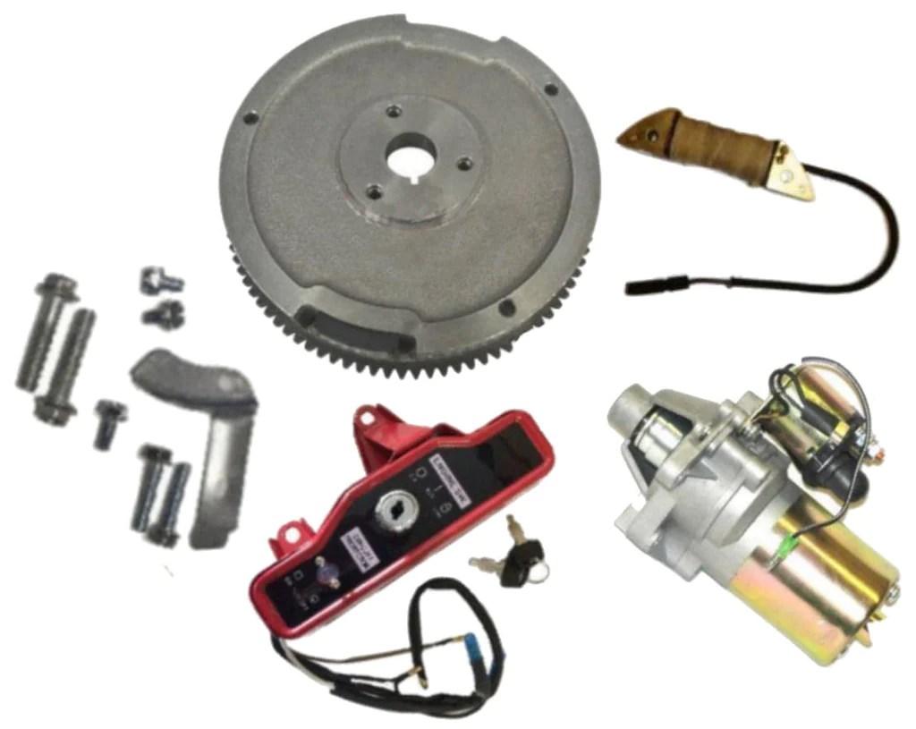 hight resolution of new honda gx340 11 hp electric starter kit fits 11hp