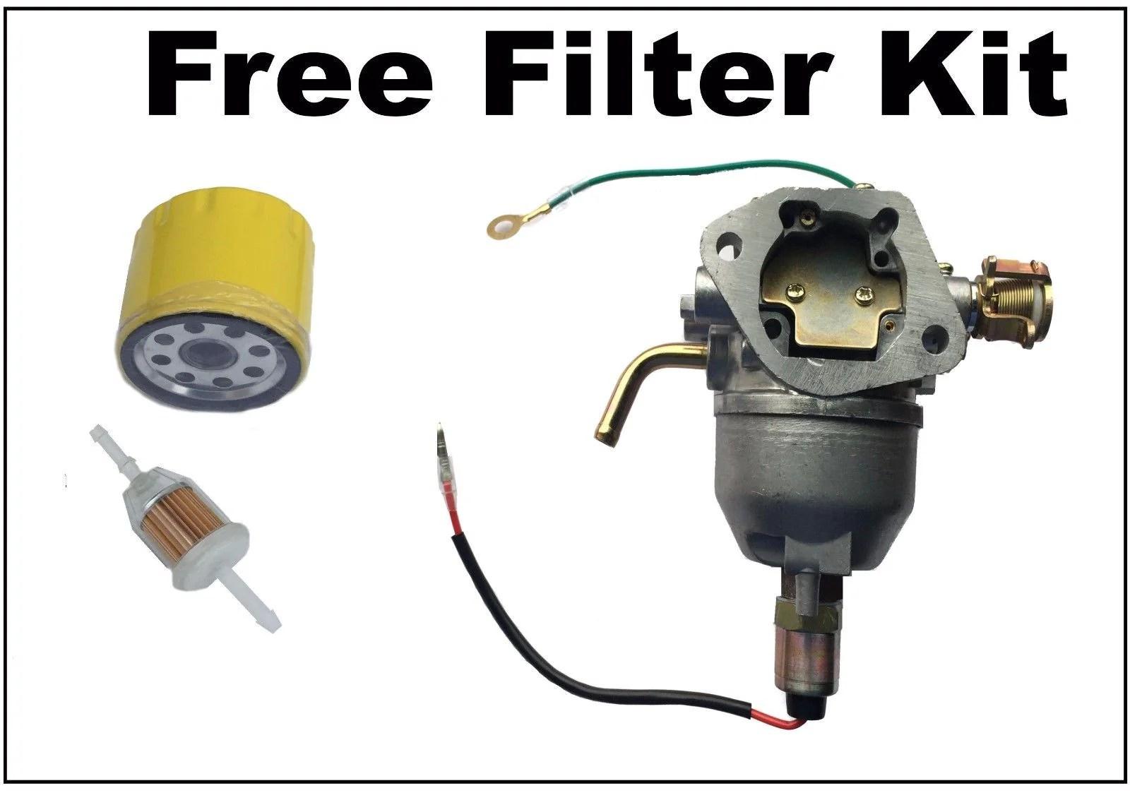 medium resolution of carburetor fits kohler cv740 cv745 engine carb oil fuel filter ae power