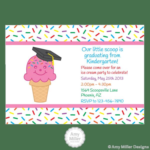 Preschool Or Kindergarten Graduation DIY Printable Custom