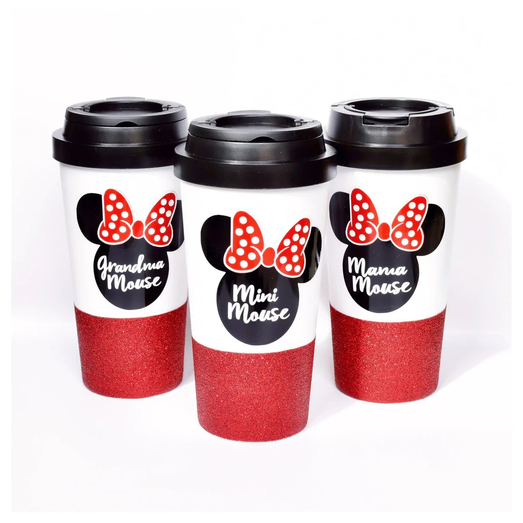 minnie mouse coffee travel
