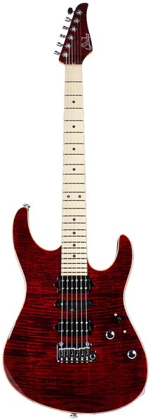 Suhr Modern Pro Guitar Chili Pepper Red Maple HSH