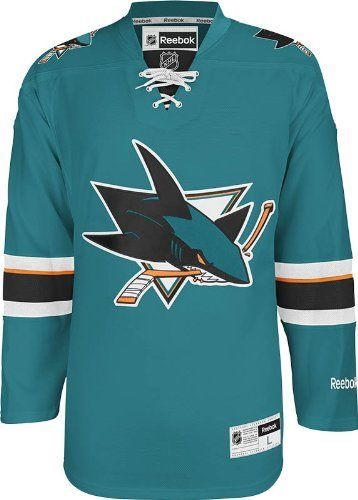 Nhl San Jose Sharks Men S Center Ice Team Colors Premier Hockey Jersey