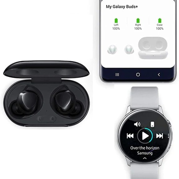 Samsung Galaxy Buds+ Plus. True Wireless Earbuds - Black