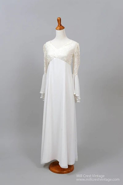 1970 Wedding Dresses