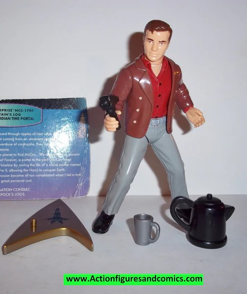 Star Trek CAPTAIN KIRK city on the edge of tomorrow 1998
