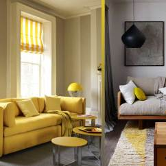 Grey And Yellow Living Room Decorating Ideas Cheap Lamps The Hutsly Rooms