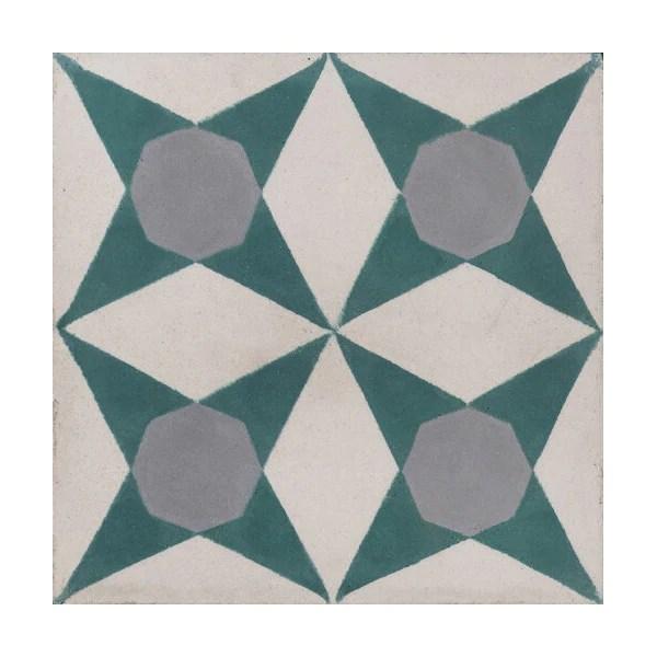 origami cement tiles mink interiors
