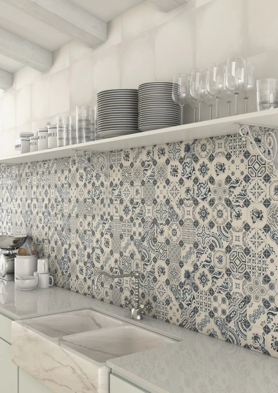 A Guide to Using Decorative Patterned Wall & Floor Tiles