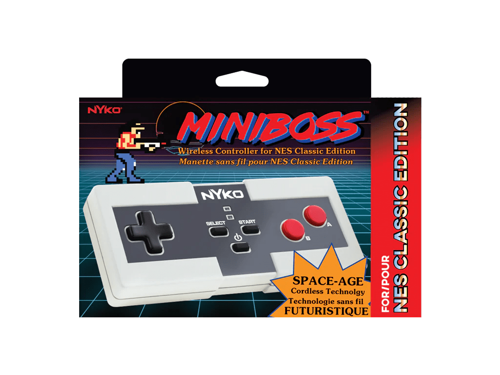 hight resolution of  miniboss for nes classic edition box front