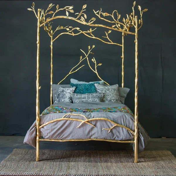 Forest Canopy 24 Karat Gold Bed